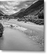 British Columbia White Pass Panorama Metal Print