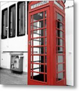 British Conversations Metal Print