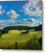 British Countryside Metal Print