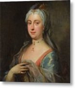 British Lady Mary Wortley Montagu Metal Print