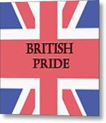 British Pride Metal Print