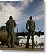 British Royal Air Force C-130j Metal Print