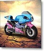 Britten V1000 1995 Desert Metal Print