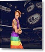 Brittney Griner Lgbt Pride 2 Metal Print