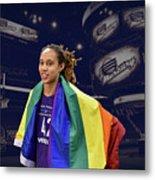 Brittney Griner Lgbt Pride 4 Metal Print