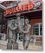 Broad Street Bullies Pub - Clarke And Parant Metal Print