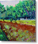 Broadripple Canal Metal Print