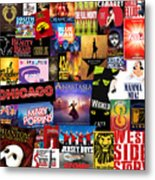 Broadway 14 Metal Print