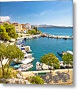 Brodarica Village On Adriatic Sea Metal Print