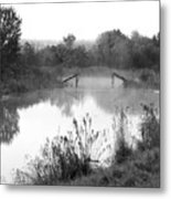 Broken Bridges Metal Print