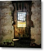 Broken House Metal Print