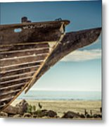 Broken Hull Metal Print
