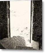 Broken Millstone Metal Print