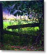 Broken Rail Metal Print