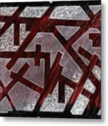 Broken Skin Metal Print