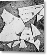 Broken Tile Metal Print