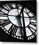 Bromo Seltzer Clock Metal Print