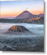 bromo tengger semeru national park - Java Metal Print