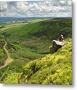 Bronte Country   Yorkshire England Metal Print