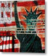 Bronx Graffiti - 4 Metal Print