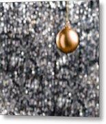 Bronze Christmas  Metal Print