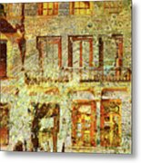 West Side Van Gogh Metal Print