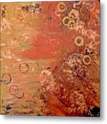 Bronze Oxidation Metal Print