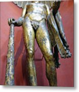 Bronze Statue Of Hercules In The Vatican Museum Metal Print