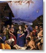 Bronzino Agnolo Painting Metal Print