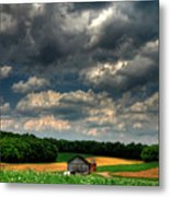 Brooding Sky Metal Print by Lois Bryan