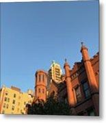 Brooklyn Blue Sky Metal Print