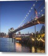 Brooklyn Brdige New York  Metal Print