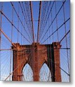 Brooklyn Bridge Metal Print by Brooklyn Bridge