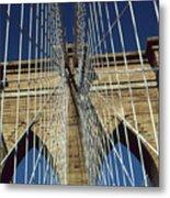 Brooklyn Bridge New York City Metal Print