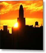 Brooklyn Dawn  Metal Print