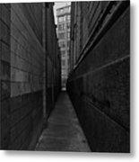 Brooklyn Dumbo Alley Metal Print