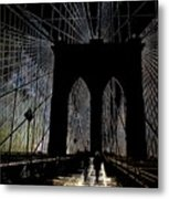 Brooklyn Gateway Metal Print