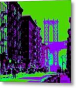 Brooklyn Green Metal Print