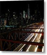 Brooklyn Lights Metal Print