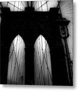 Brooklyn Mist Metal Print