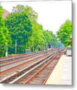 Brooklyn Subway Train Station 2 Metal Print
