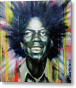 Brother Black... Mcmlxxv Metal Print by Brandon Coley