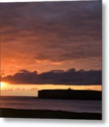 Brough Of Birsay Sunset Metal Print