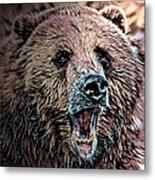 Brown Bear Metal Print