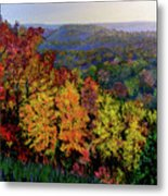 Brown County Autumn Metal Print