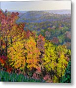 Brown County Vista Metal Print