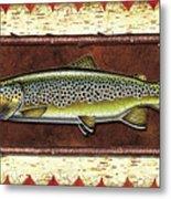 Brown Trout Lodge Metal Print