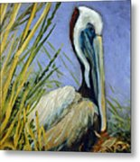 Brownie Nesting Metal Print