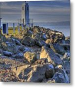 Browns Point Lighthouse Metal Print