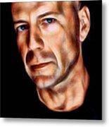Bruce Willis Collection Metal Print